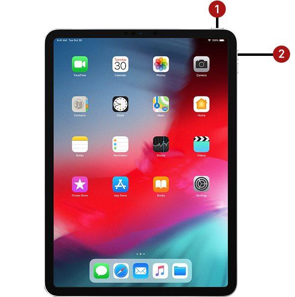 iPad Pro Neustart