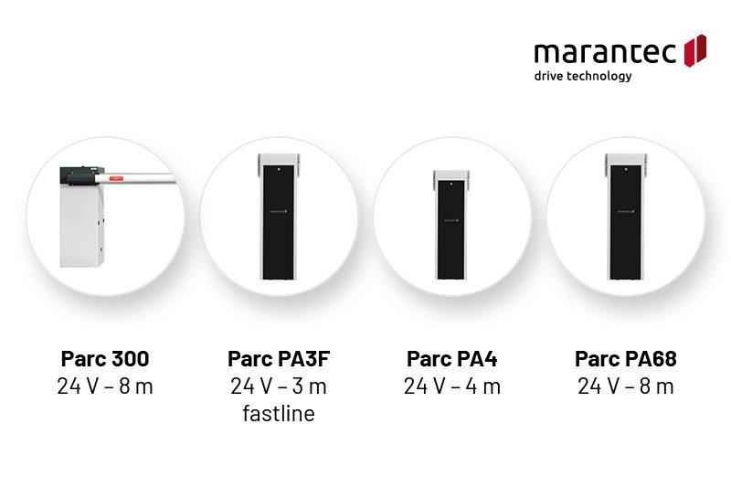 Marantec Parc 300 Parc PA3F, PA4, PA68