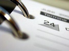 Terminkalender / Foto: klicker/pixelio.de