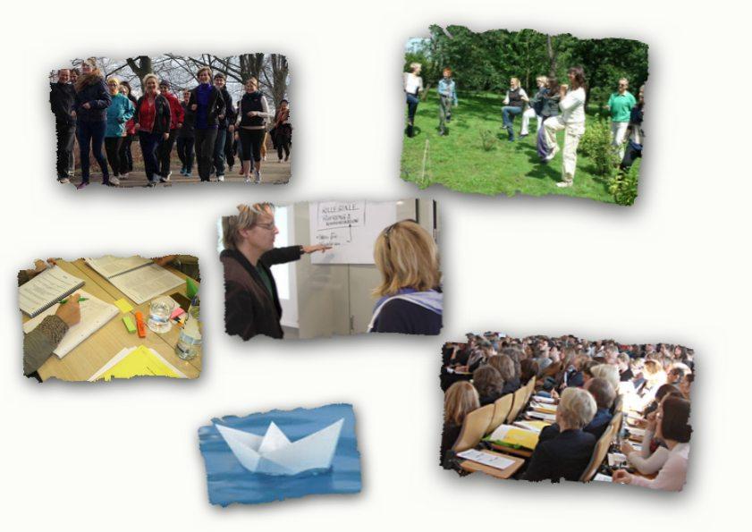 Collage Angebote Berufsverband der Präventologen