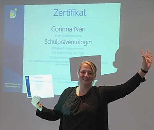 Schulpräventologin Corinna Nan