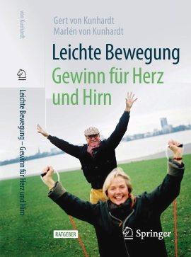 """Buchcover """"Leichte Bewegung"""" von Gert von Kunhardt"""