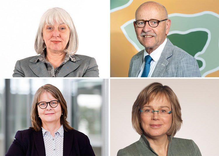 Brigitte Döcker, AWO, Prof. Dr. Rolf Rosenbrock, Paritätischer Wohlfahrtsverband, Maria Loheide, Diakonie, Maria Welskop-Deffaa, Caritas
