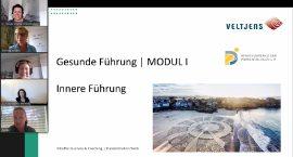 "Screenshot Seminar ""Innere Führung"" mit Barbara Veltjens"