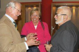 Gert und Marlen von Kunhardt mit Wolfgang Kieser