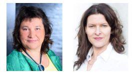 Martina Rudolph und Denise Iwanek vom Vorstand des Berufsverbandes der Präventologen e.V.